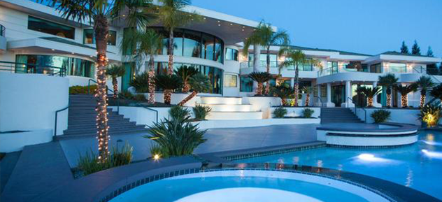 Top 10 Celebrity Homes Luxury Lifestyle Blog VIP Travel Guide